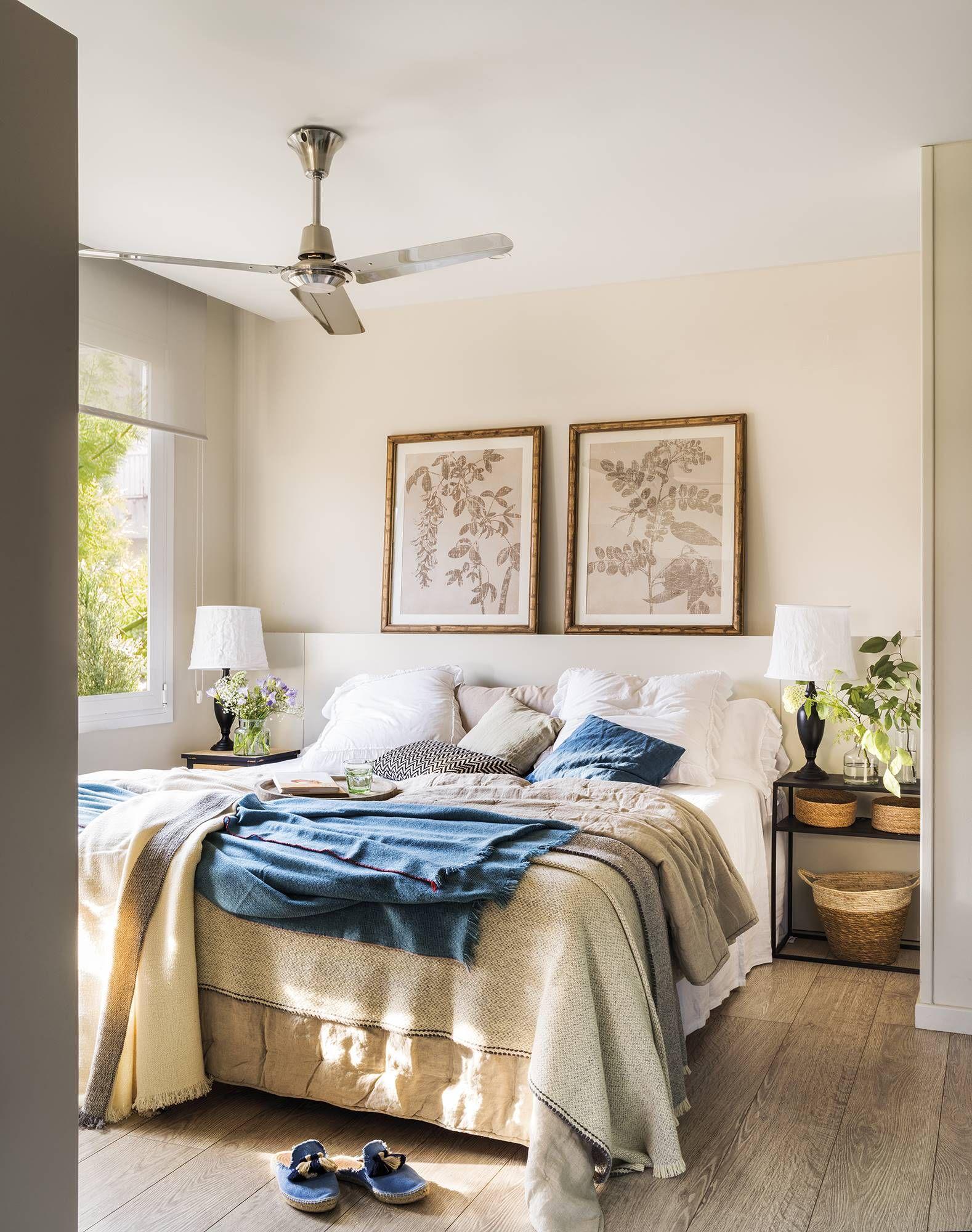 Un dormitorio tranquilo en 2019 dormitorios modernos y - Decoracion armarios dormitorios ...