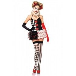 Sugar Skull Cat Eyemask Halloween Burlesque Women/'s Fancy Dress Costume