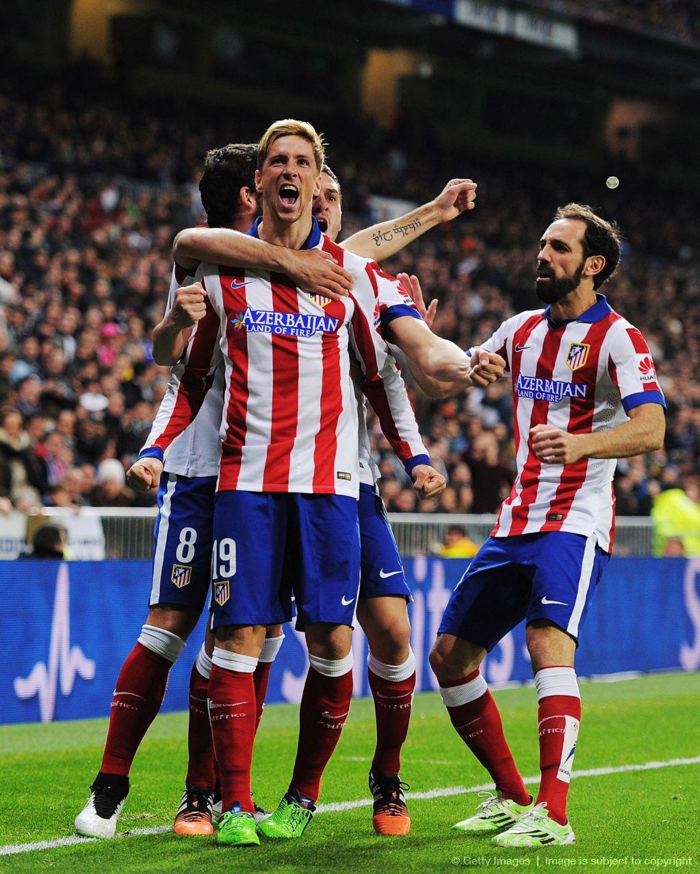 #Fernando Torres #Juanfran #Atletico Madrid #Club Atletico d