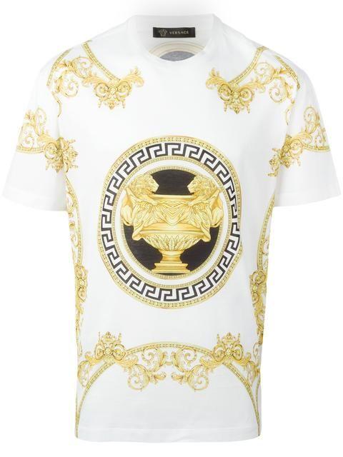 Versace Camiseta mangas curtas Roupas 892e2028fa6