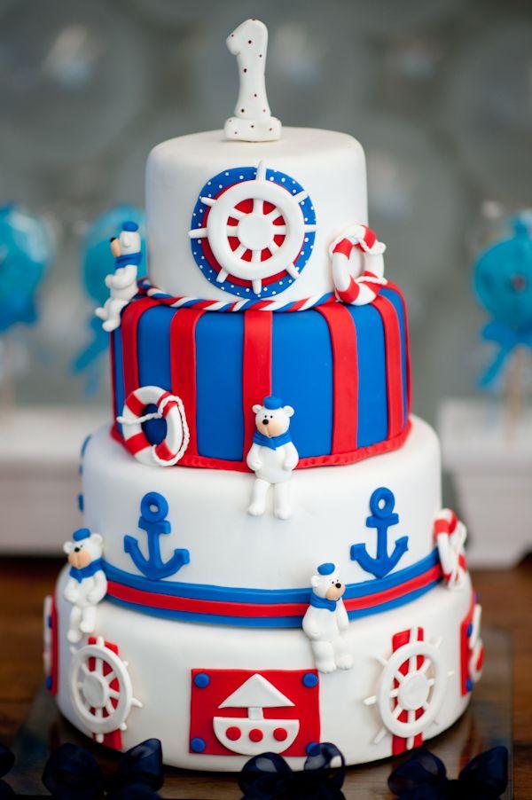 Festa infantil bolo para tema marinheiro bolos pinterest festa infantil bolo para tema marinheiro thecheapjerseys Gallery