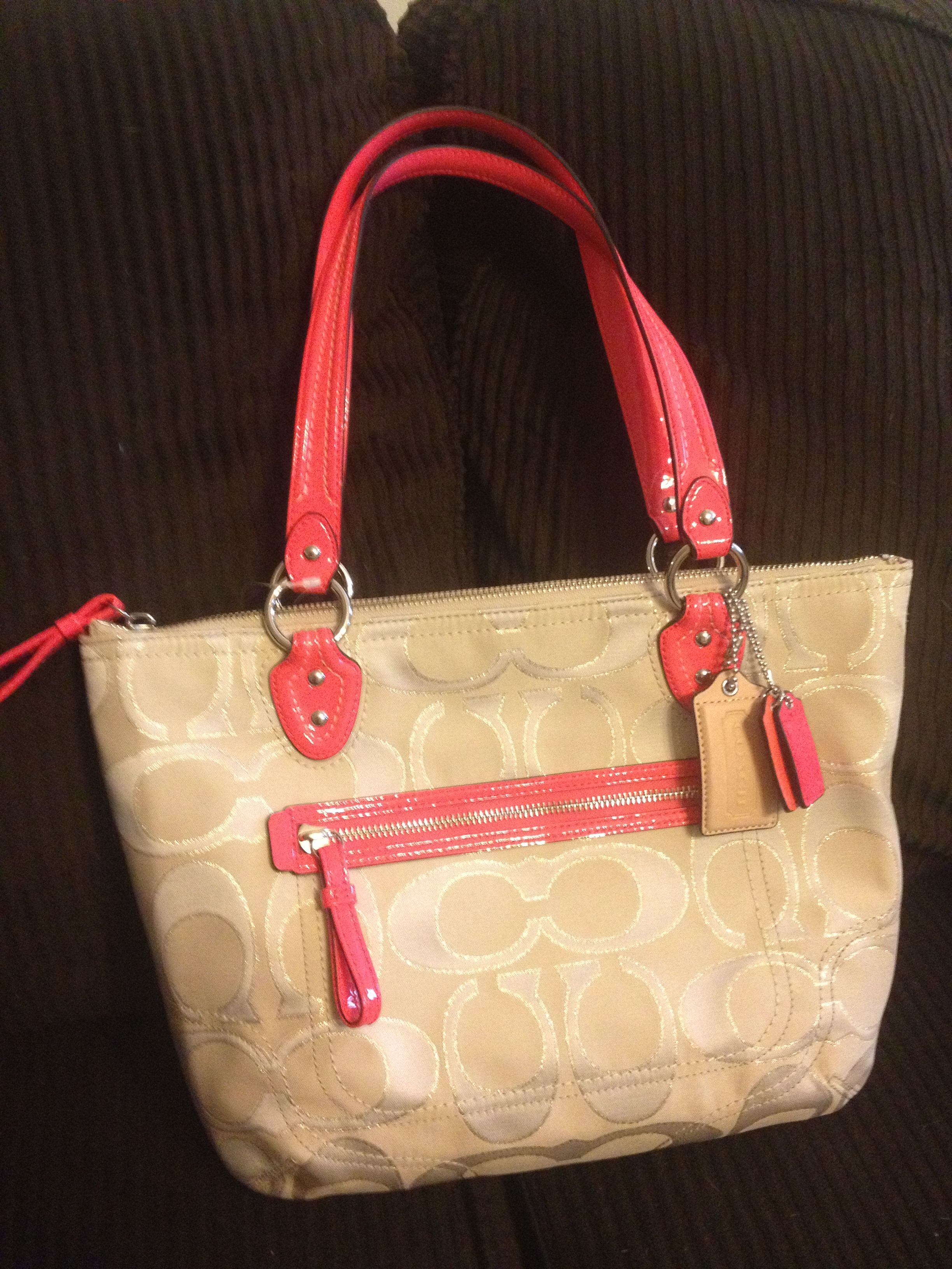 Birthday gift to myself! New Spring Coach Bag | Bags ...