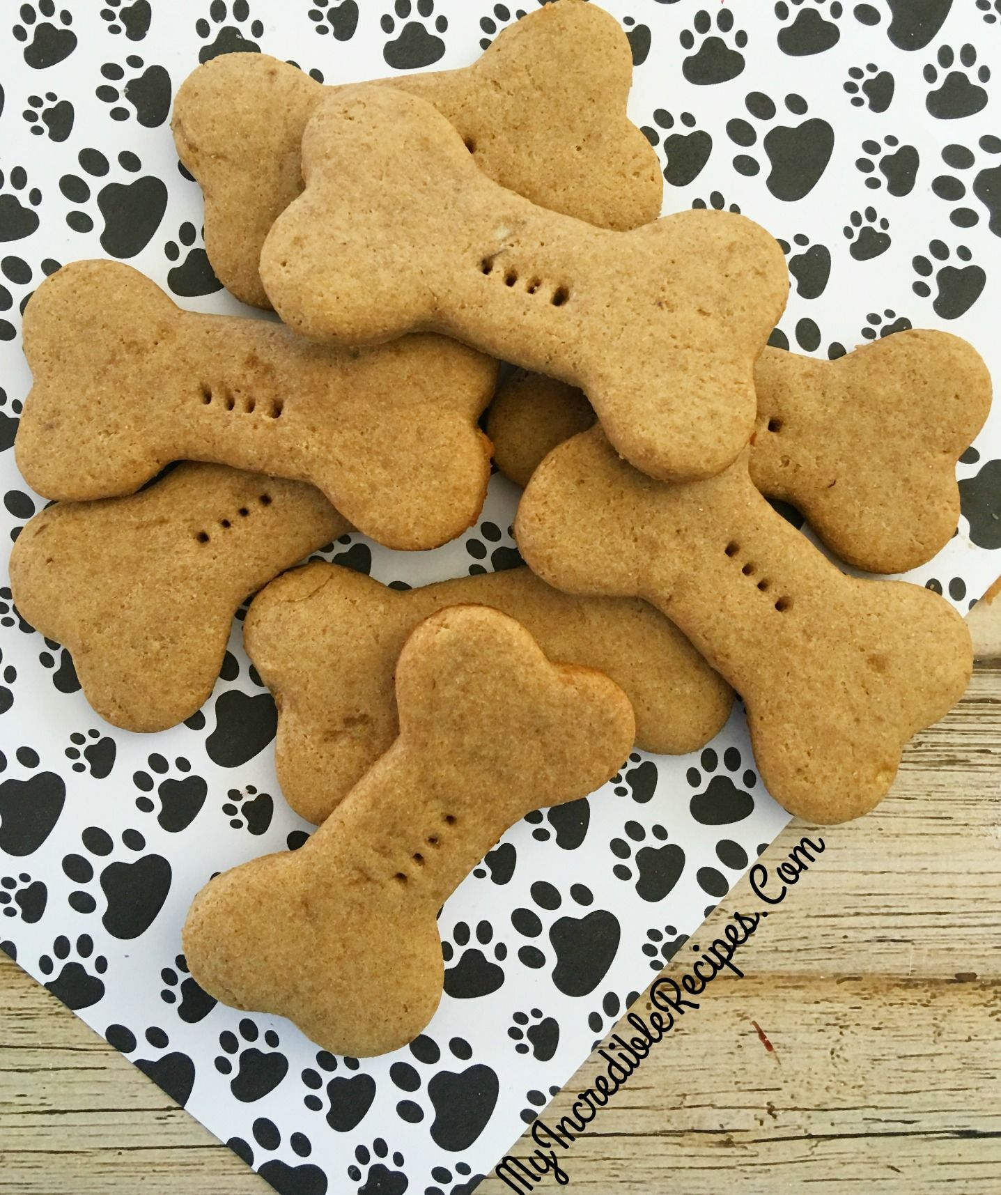 4Ingredient Dog Biscuits Recipe Dog, Doggies and Dog food