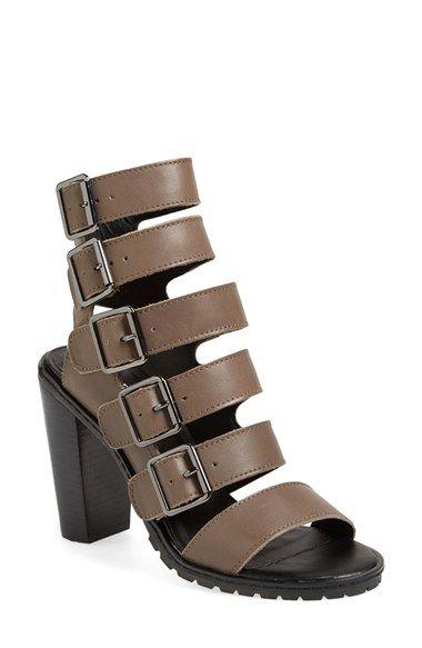 Kelsi Dagger Brooklyn 'Lupita' Leather Gladiator Sandal (Women) available at #Nordstrom