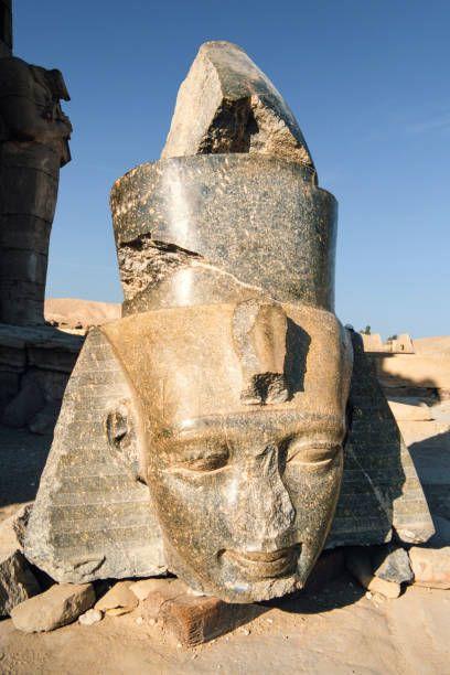 Statue Of Ramses II, Ramesseum, Luxor, Egypt