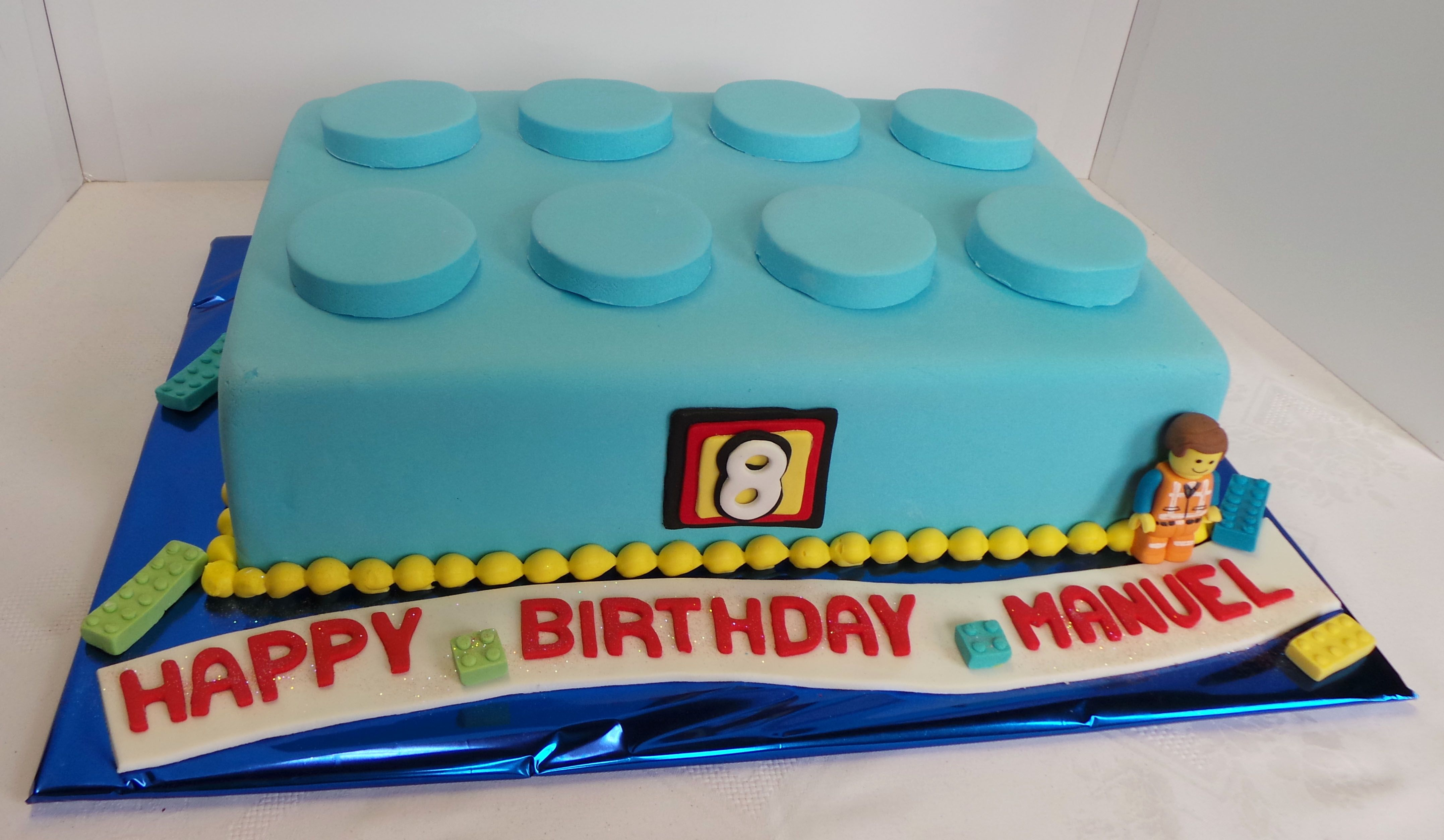 Lego Themed Sheet Cake Design Was Brought In By Client By Unknown Cake Artist We Just Added T Birthday Cake Kids Lego Birthday Party Lego Star Wars Birthday