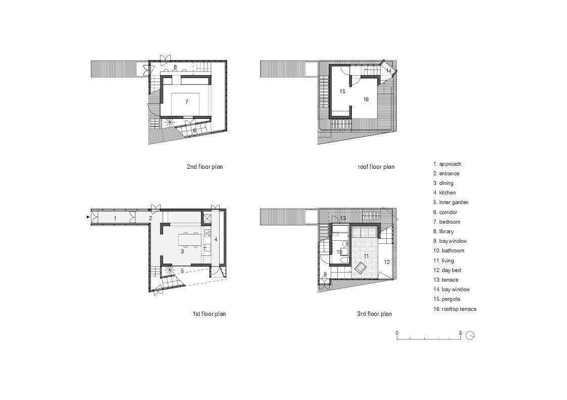 gallery of double helix house onishimaki hyakudayuki