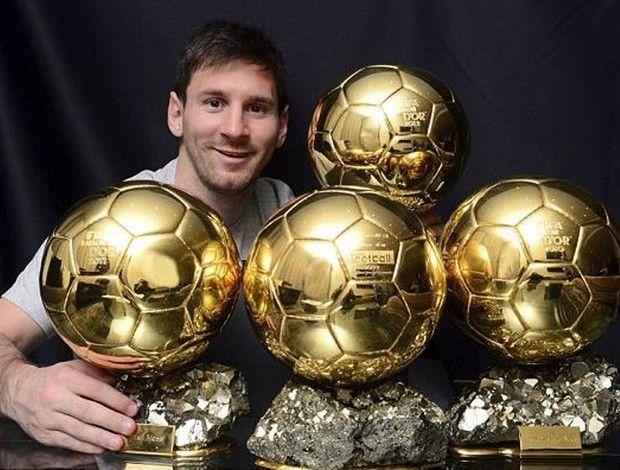 Messi Bola De Ouro Foto Reproducao Lequipe
