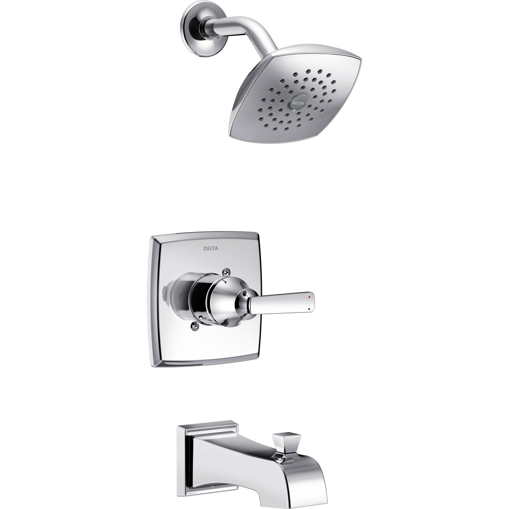 Delta Ashlyn Modern Chrome Finish 14 Series Watersense Single Handle ...