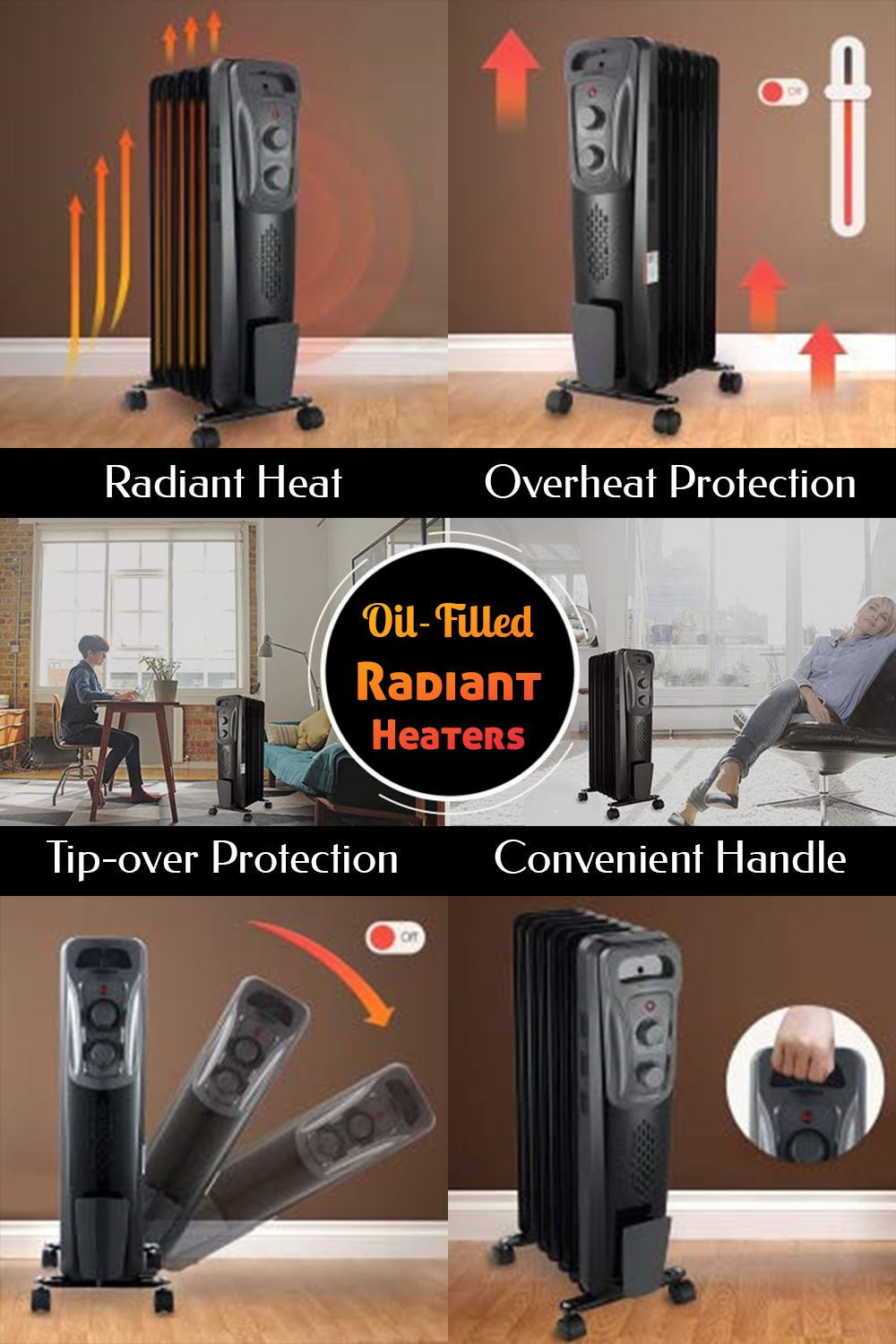 Top 10 Oil Filled Radiant Heaters April 2020 Reviews And Buyers Guide Oil Heater Oil Filled Radiator Radiant Heaters