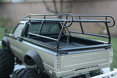 59 00 Tamiya Rc 1 10 Toyota Hilux Mountaineer Pick Up Custom Made Metal Roof Rack Scale 1 10 For Vehicle Type Truck Fuel Source Accesorios Para Trocas