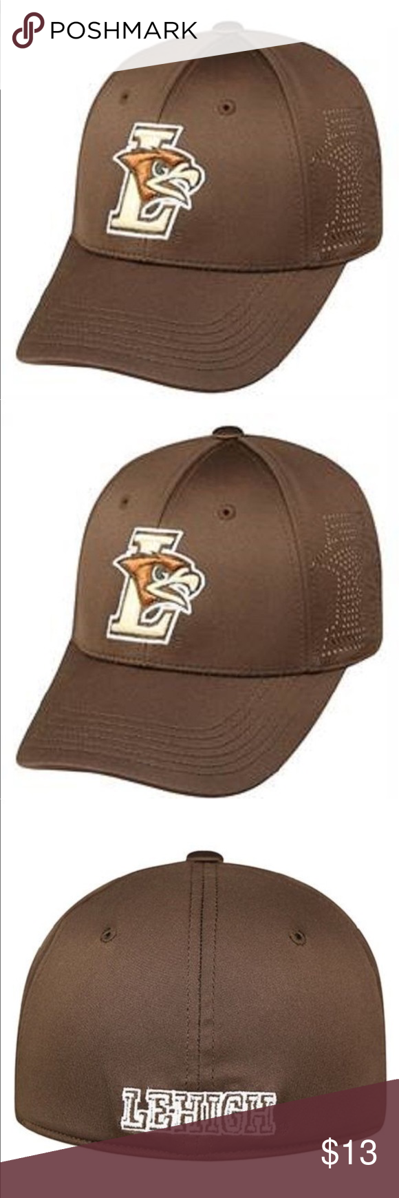 Lehigh Mountain Hawks NCAA TOW Fitted Hat NWT Fitted