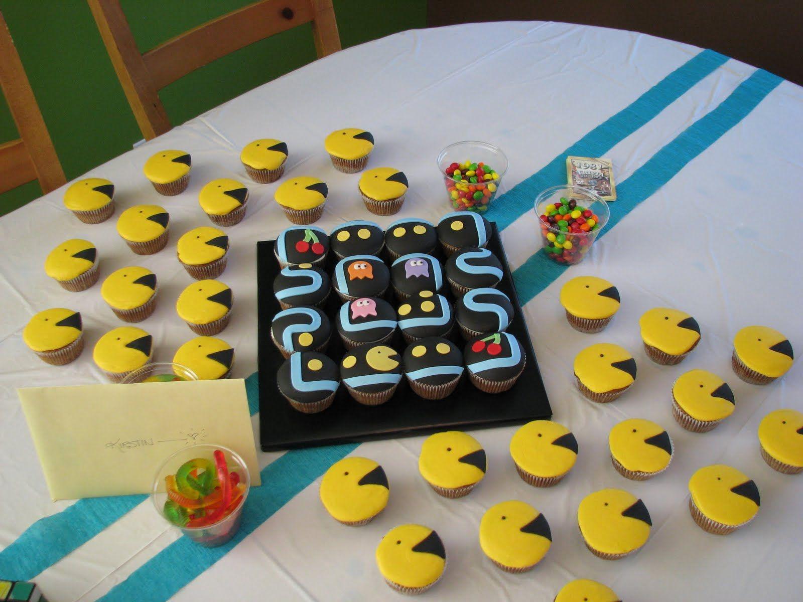 Pac Man Birthday Party Ideas