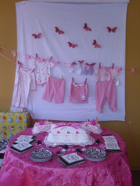 baby girl shower decorations  baby shower wall decor, baby girl, Baby shower