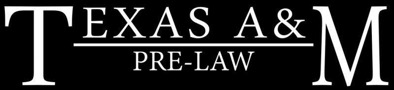 TEXAS A&M PRE-LAW CAR DECAL