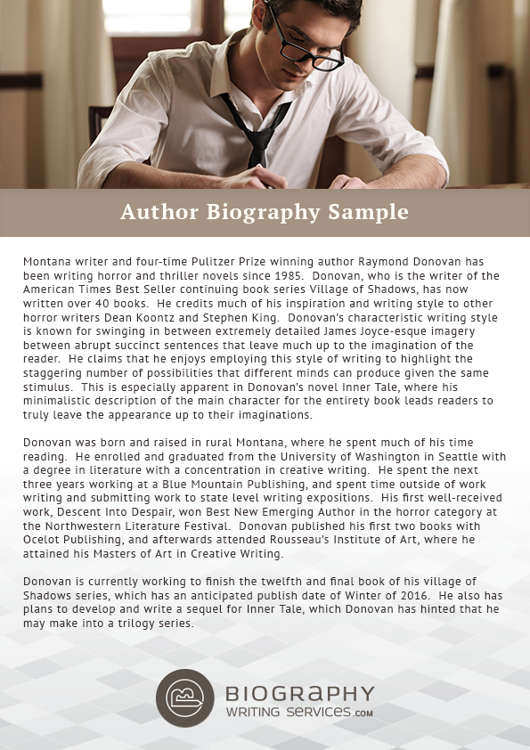 pin by best biography samples on author biography sample pinterest author biography and best authors