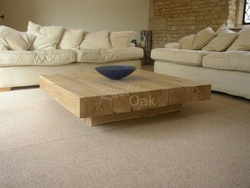 Gorgeous oak coffee table from essex | Coffe table ideas | Pinterest ...