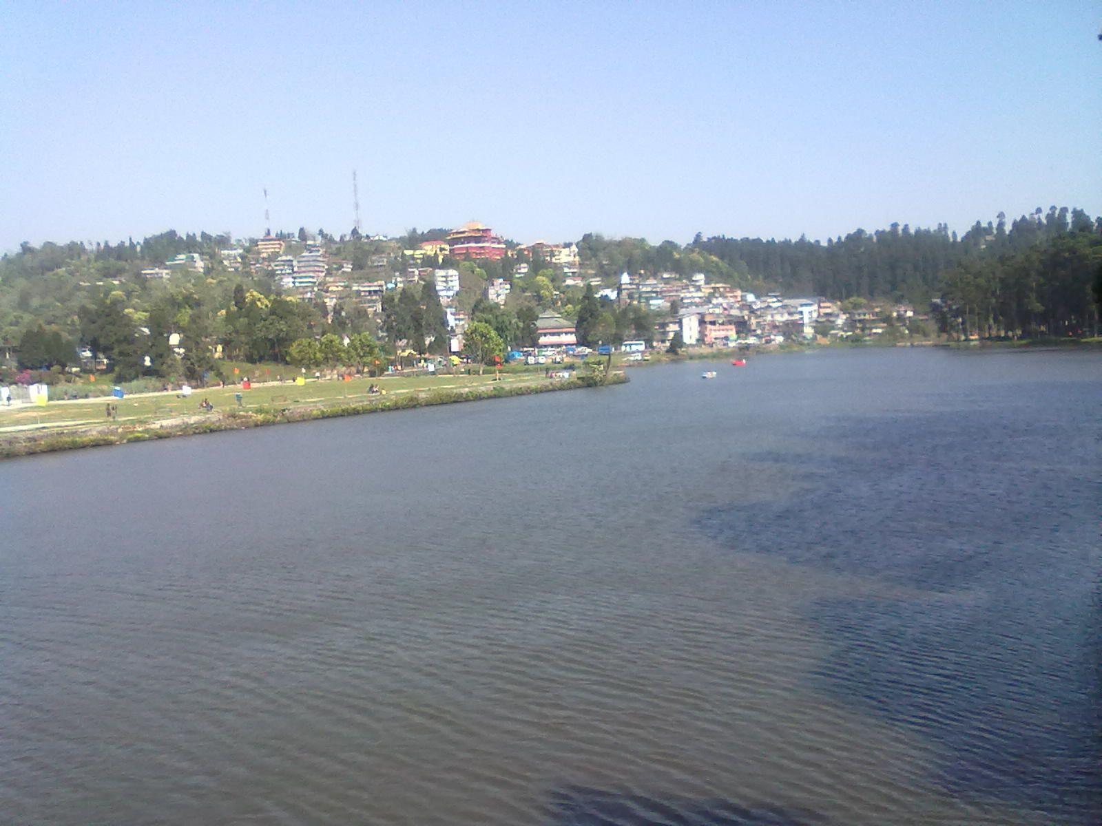 Mirik Lake, Darjeeling.