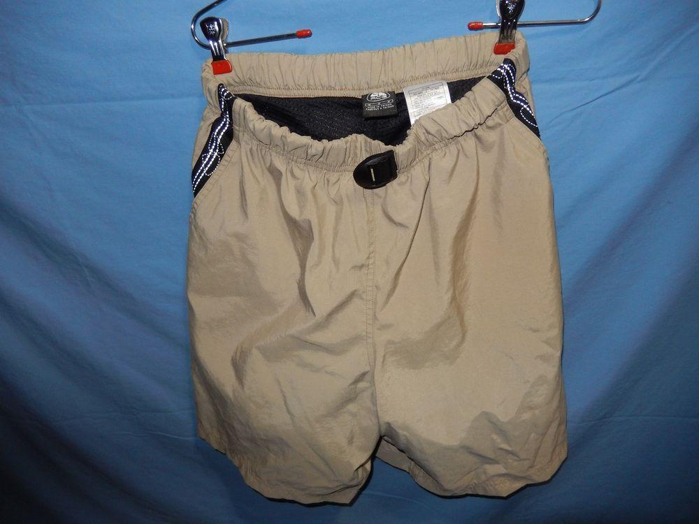 36b0649385642 Vintage Nike ACG Shorts Tan Black Medium Hiking Outdoors Athletic ...