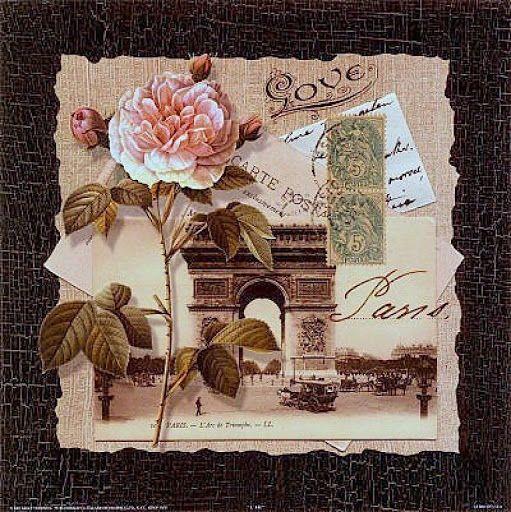Laminas Y Trabajos Con Flores Crafts Decoupage Prints