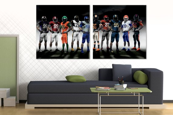 Canvas Print Champions Gym Giant Wall Decor 1 2 3 4 5 Piece Canvas Art Set Sport Poster On Canv 5 Piece Canvas Art Canvas Prints Canvas Frame