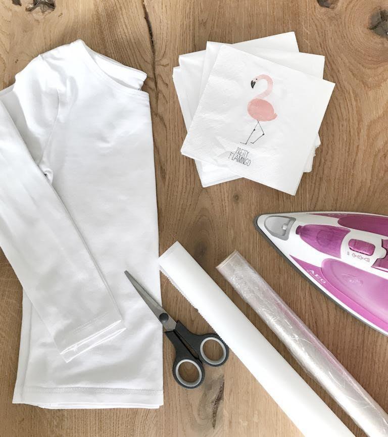 Easy diy anleitung flamingo b gelbilder einfach selber for Decken streichen leicht gemacht