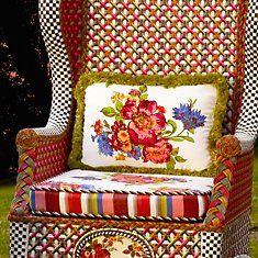 Flower Market Pillows