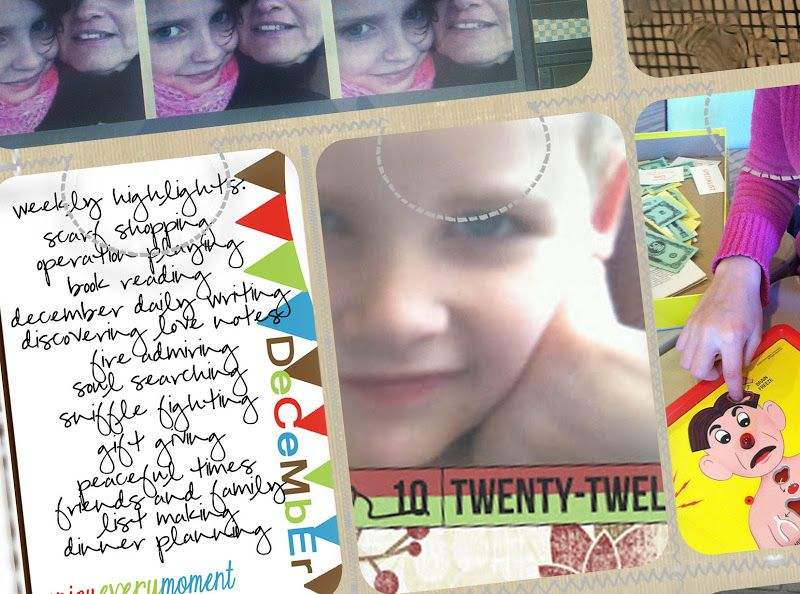 Collage and Quote cards #projectlife