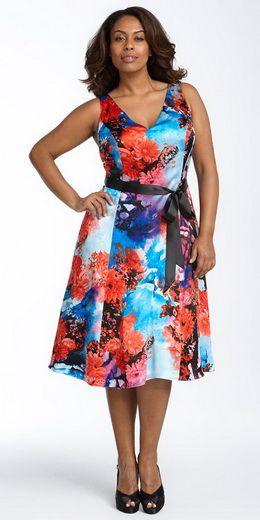0da142ac9bd Мода для полных платья - Стильный и модный магазин одежды