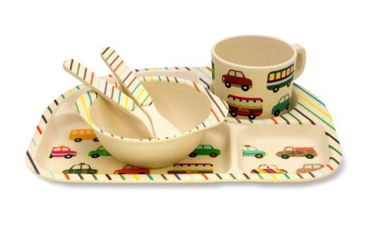 Vroom! Open wide for the airplane and yummies! Check out Culina kids perfect transport design dinnerware for kids!