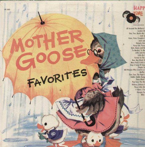 Mother Goose Favorites English Vinyl LP