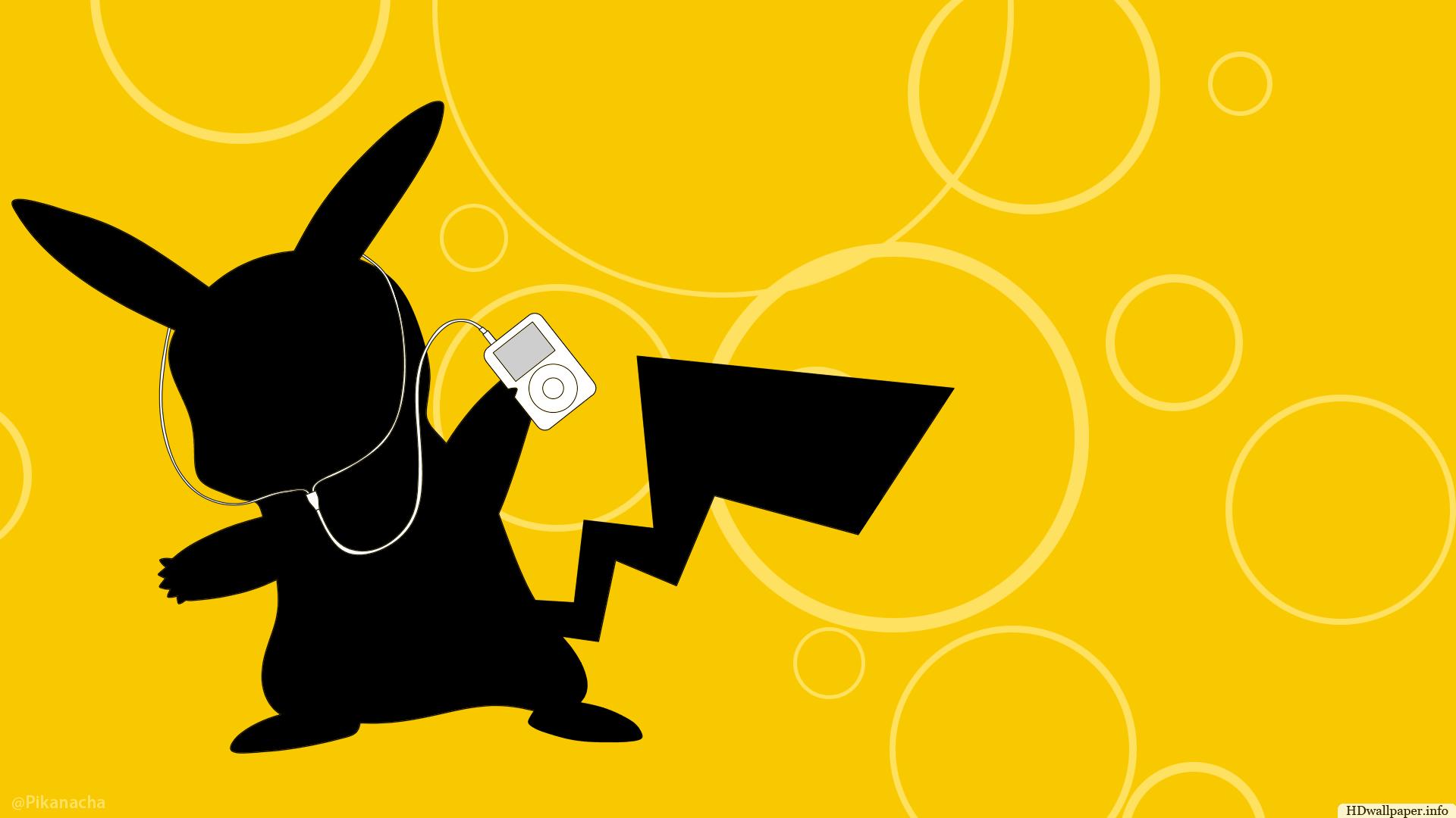 pikachu ipod wallpaper o pikachu ipod