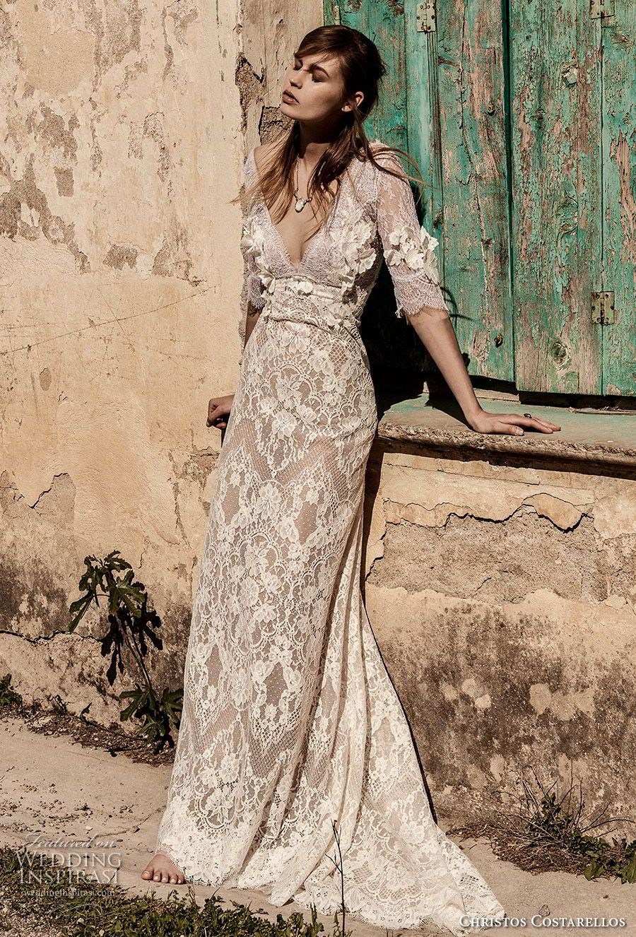 Costarellos spring wedding dresses bridal collection