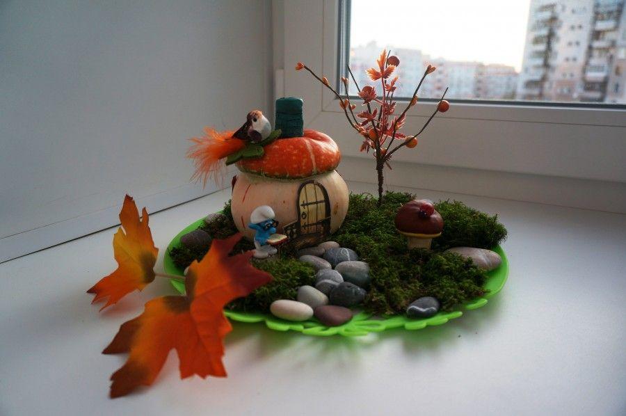 Поделка в садик на тему дары осени