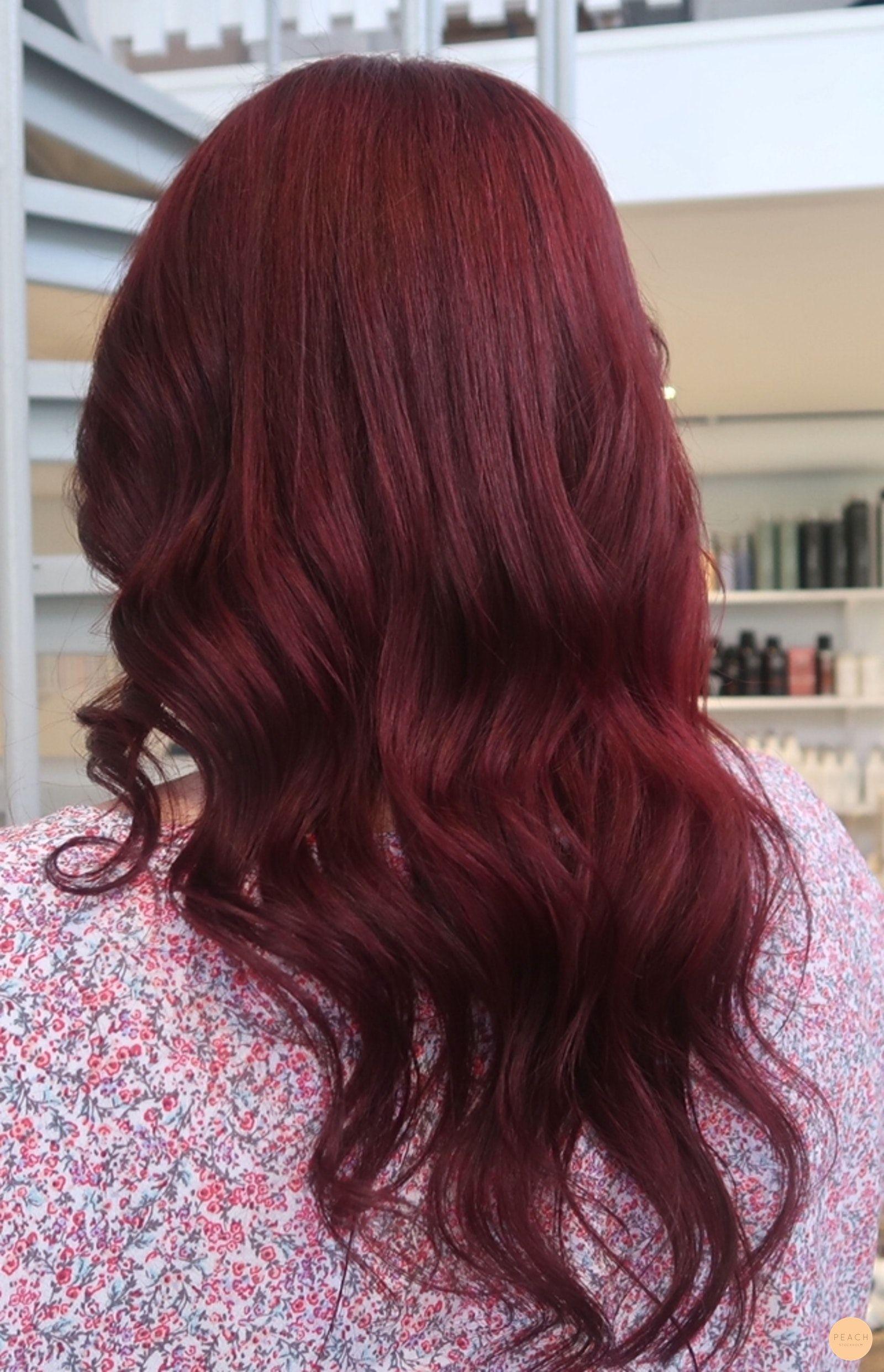 mahogny röd hårfärg