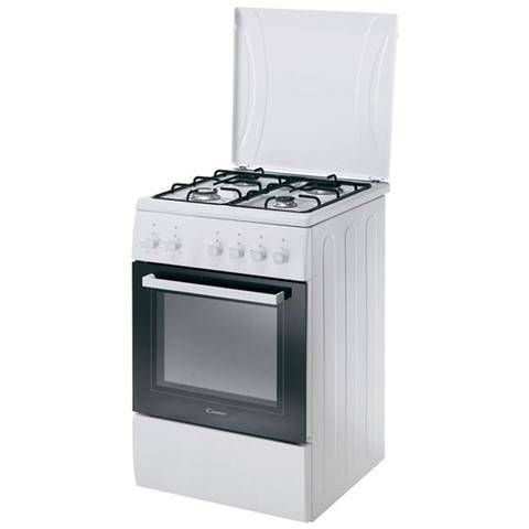 Candy cucina a gas ccg5100sw / 1 4 fuochi ad Euro 332.99 in #Candy ...