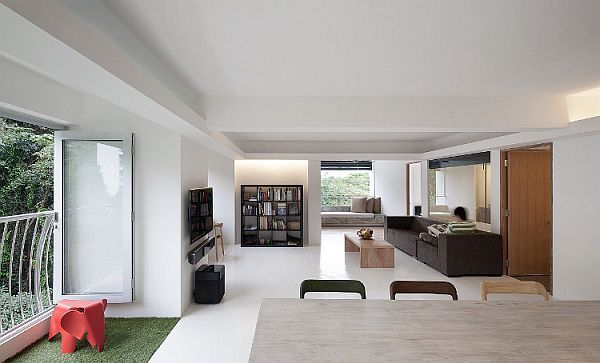 Minimalist Singapore House Redefines Open Spaces Concept RoomMinimalist Living