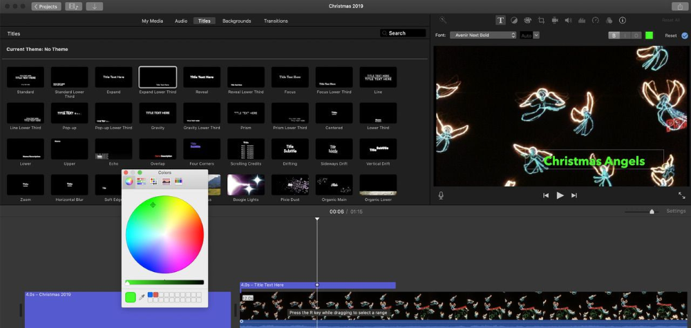 Creating Holiday Videos With Imovie On A Mac Videos Holiday Movie Photo Apps