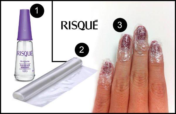 Dica Risqué de cuidados para não borrar as unhas