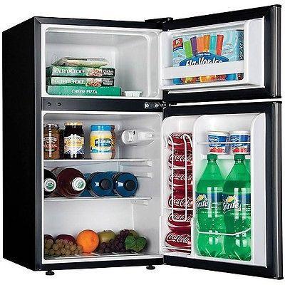 Compact Refrigerator And Mini Freezer Home Office Dorm Fridge Appliances NEW Part 91