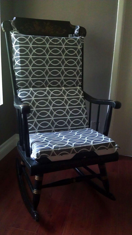 Easy rocking chair cushion to make diy crafts that i love pinterest rocking chair - Rocking chair cushion diy ...