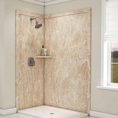 Flexstone Elegance Shower Surround 80 H X 48 W X 36 D 2 Panel