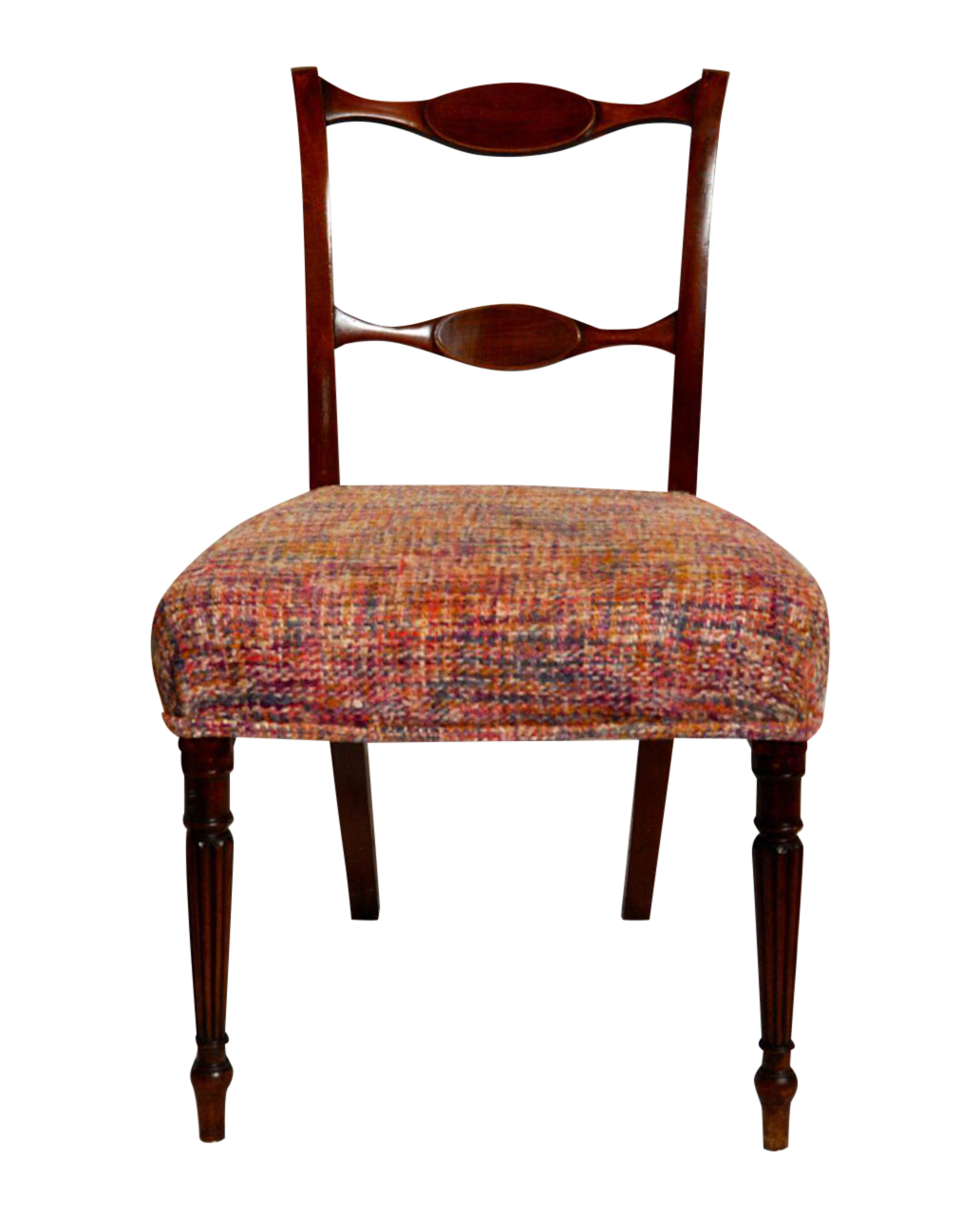 Antique Ladder Back Dining Chairs   Set Of 8 On Chairish.com