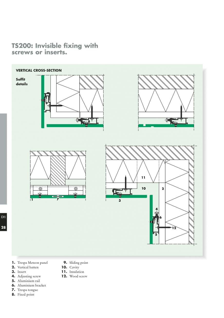 Risultati immagini per trespa pdf details