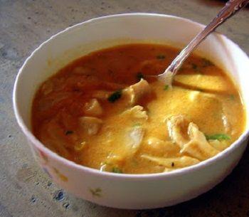 Грибной суп из вешенок сырых