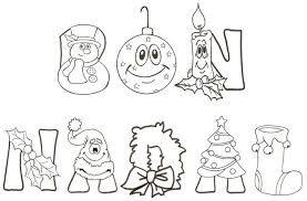 Resultado de imagen de bon nadal letras | DibuixosXpintar ...