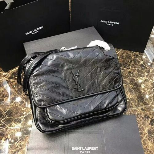 5bda46316ee Saint Laurent Niki bags MEDIUM NIKI CHAIN BAG IN VINTAGE CRINKLED AND  QUILTED BLACK LEATHER #saintlaurent #ysl #yslbag #yslnikibag #baglover  #bagforsale ...