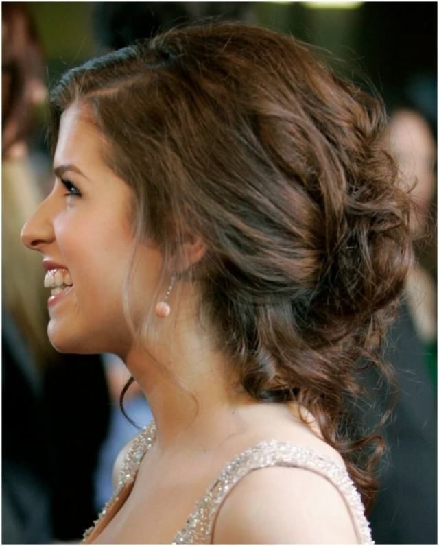 30 Beautiful Loose Curly Updo Wedding Hairstyles