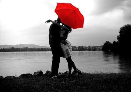 red umbrellaa