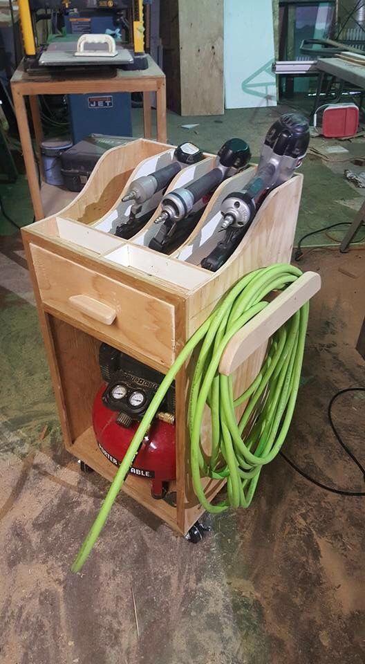 Photo of Woodworking Tips Tutorials, Garage Workbench – Wooden Bench with Storage …